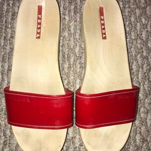 Women's Prada sandals, size 36,Excellent condition